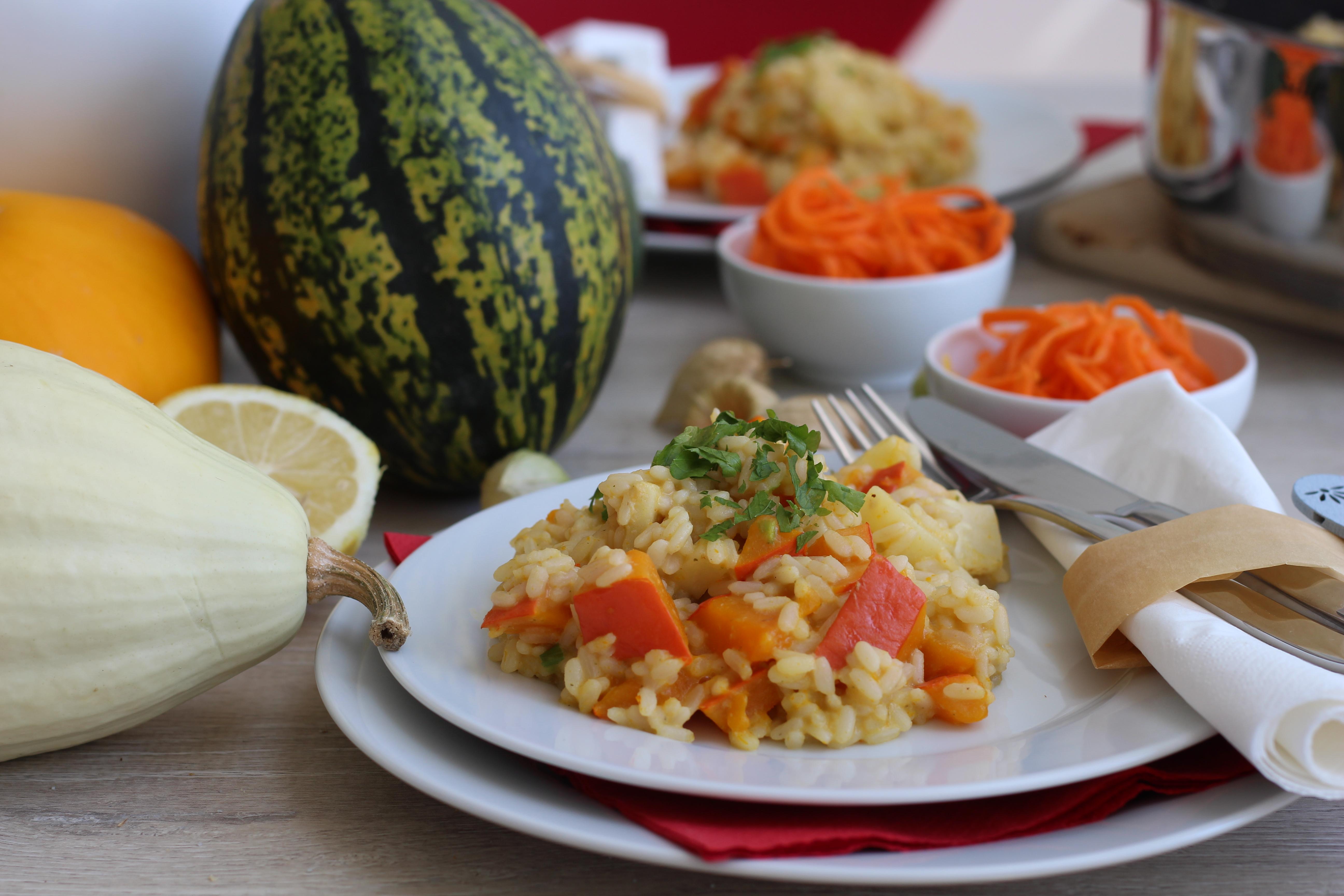 vegan-kuerbisrisotto-herbst-hokkaido-fall-austrian-foodcooking-3