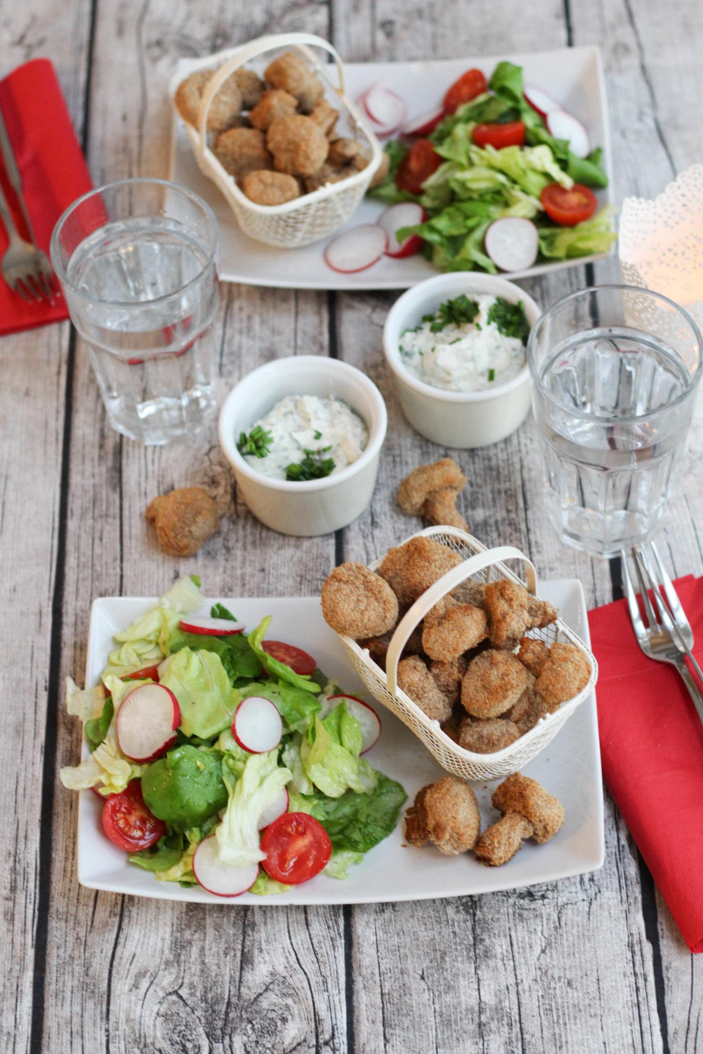 vegan panierte champignons schwammerl pilze austrianfood. Black Bedroom Furniture Sets. Home Design Ideas