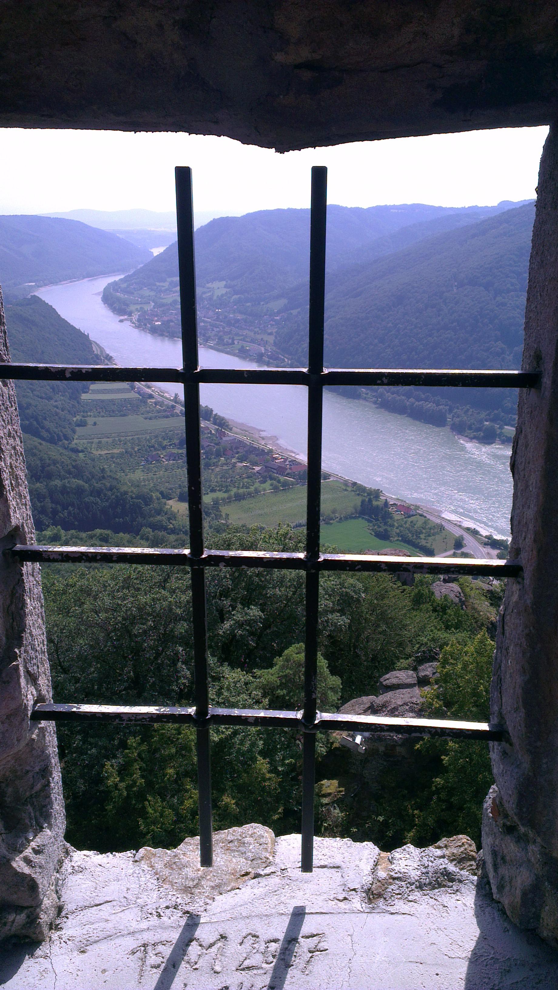 Burg Aggstein Fenster