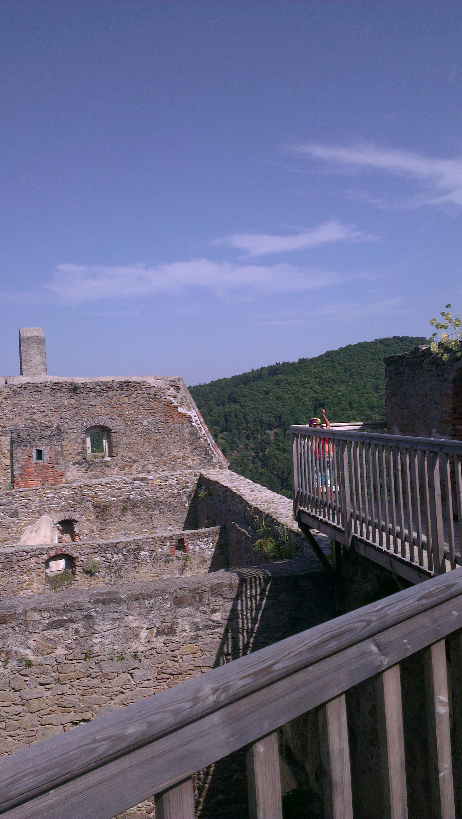 Burg Aggstein Ruine