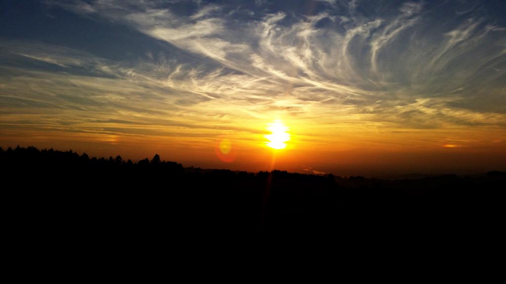 Herbst Sonnenuntergang2