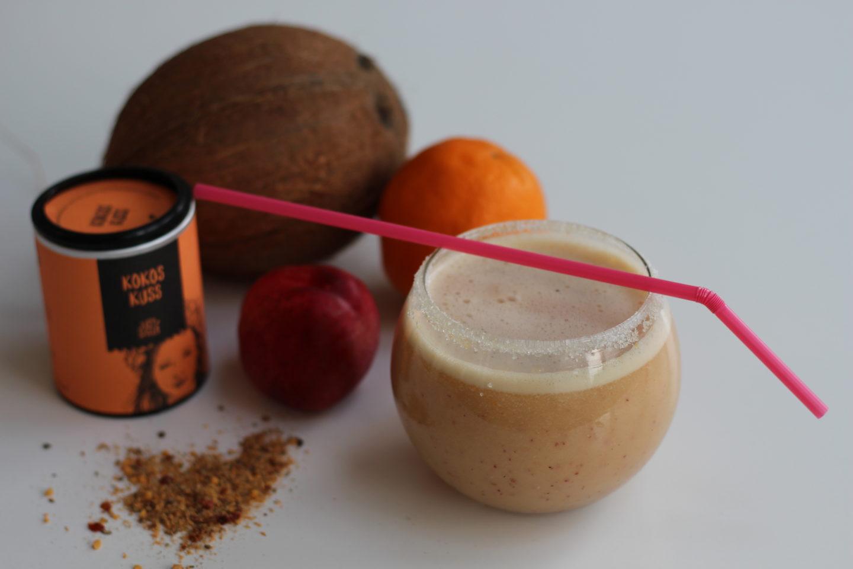 Veganer Kokoskuss Smoothie