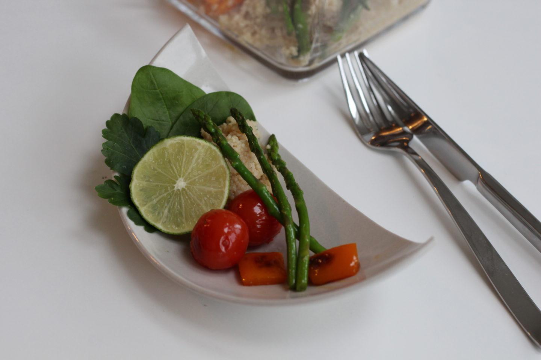 Veganer Spargelsalat