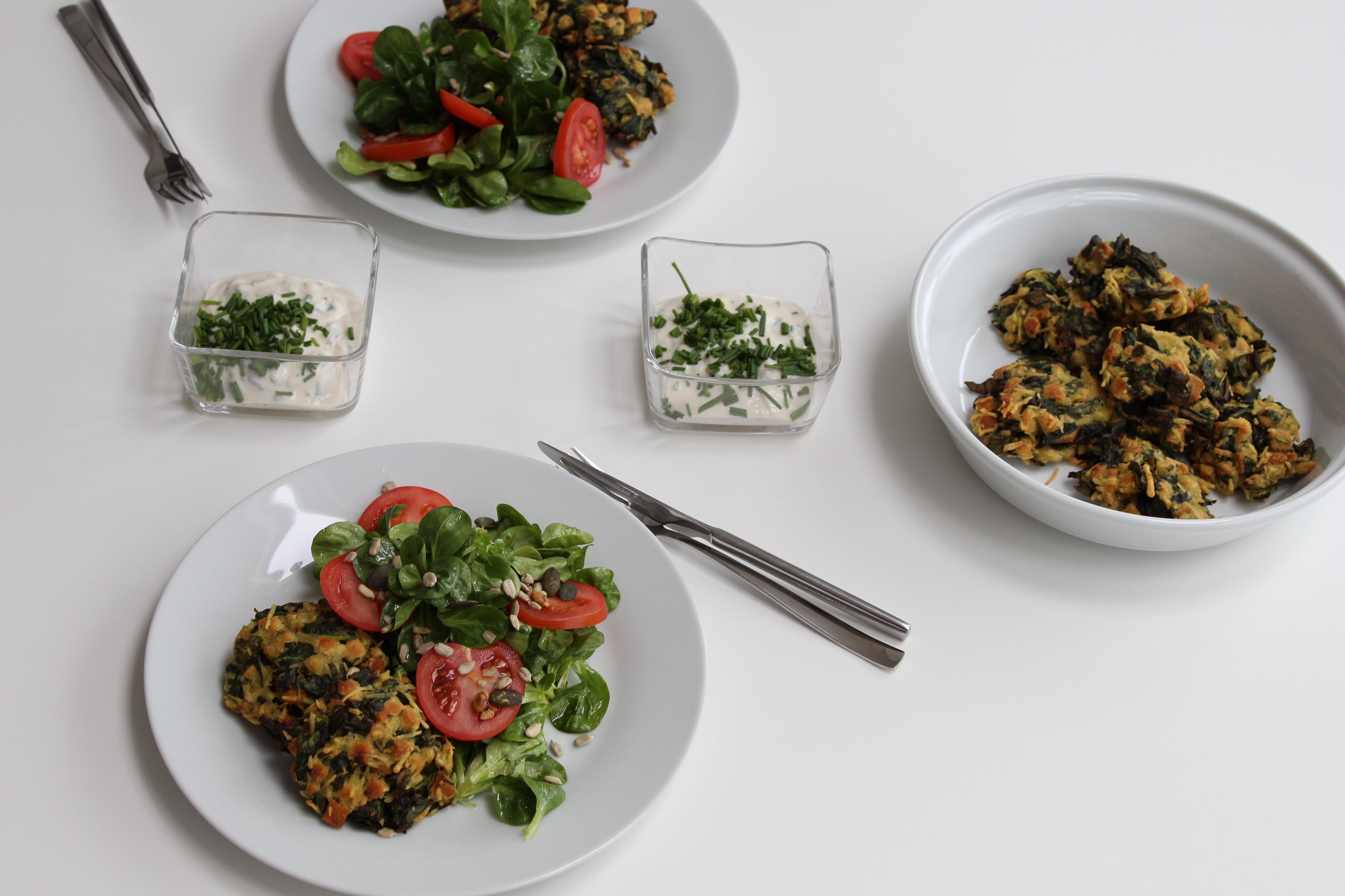Vegane Kaspresslaberl Gedeckter Tisch