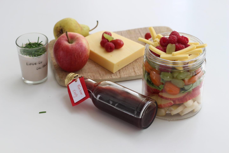 Veganer Käsesalat und Gosausee