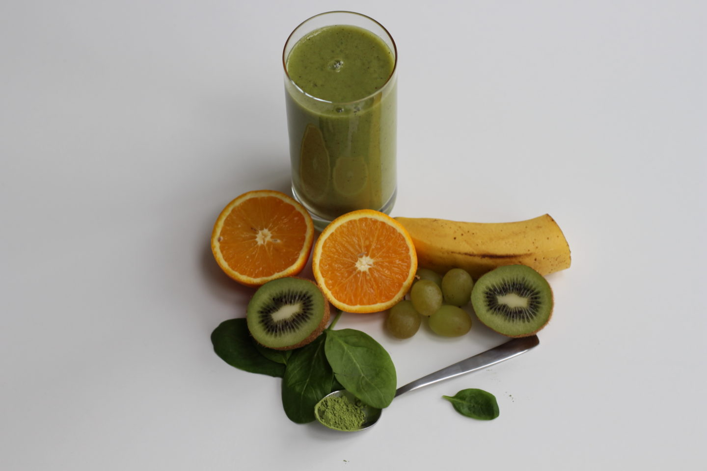 Veganer grüner Power Smoothie