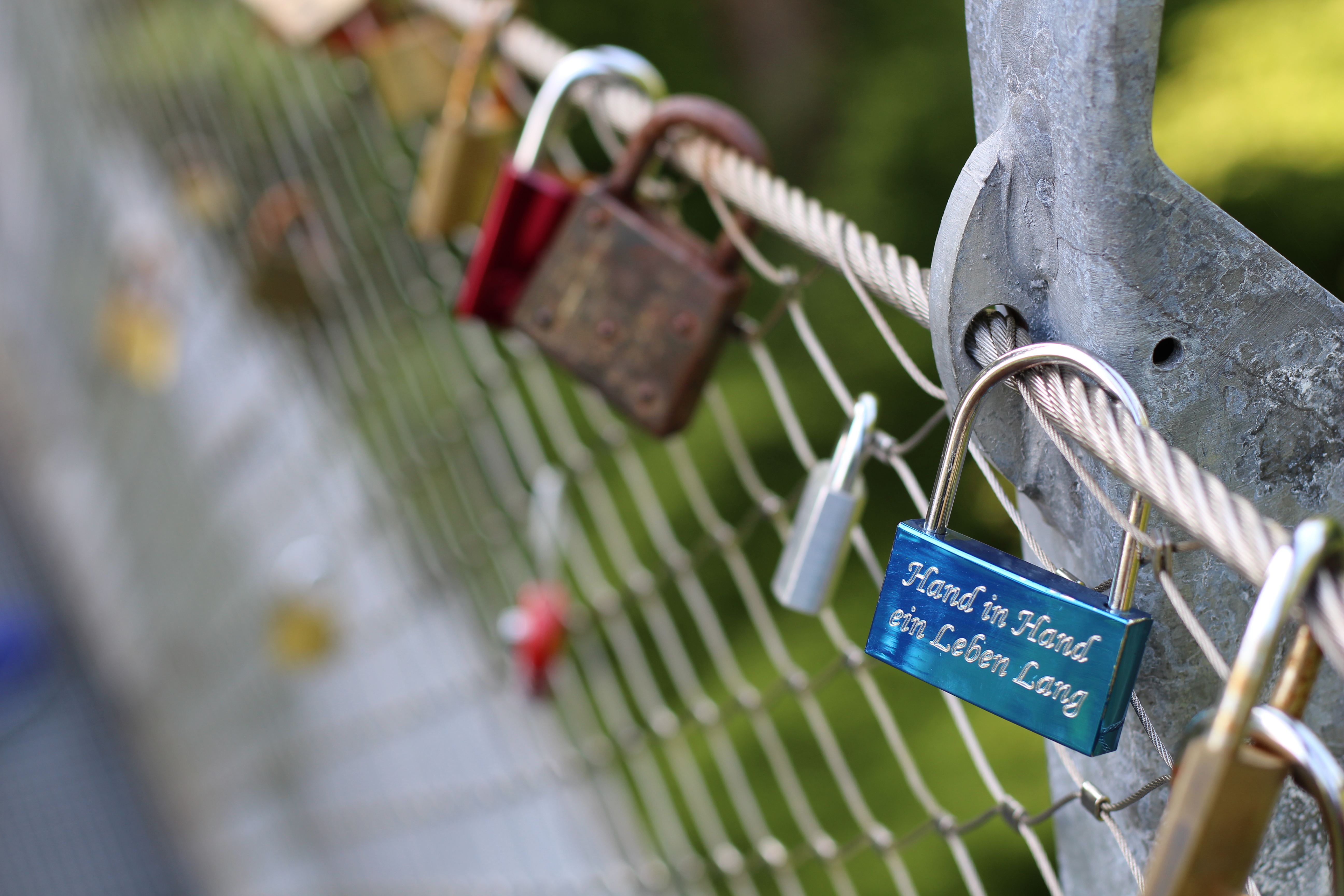Erlaufschlucht Brücke der Liebe