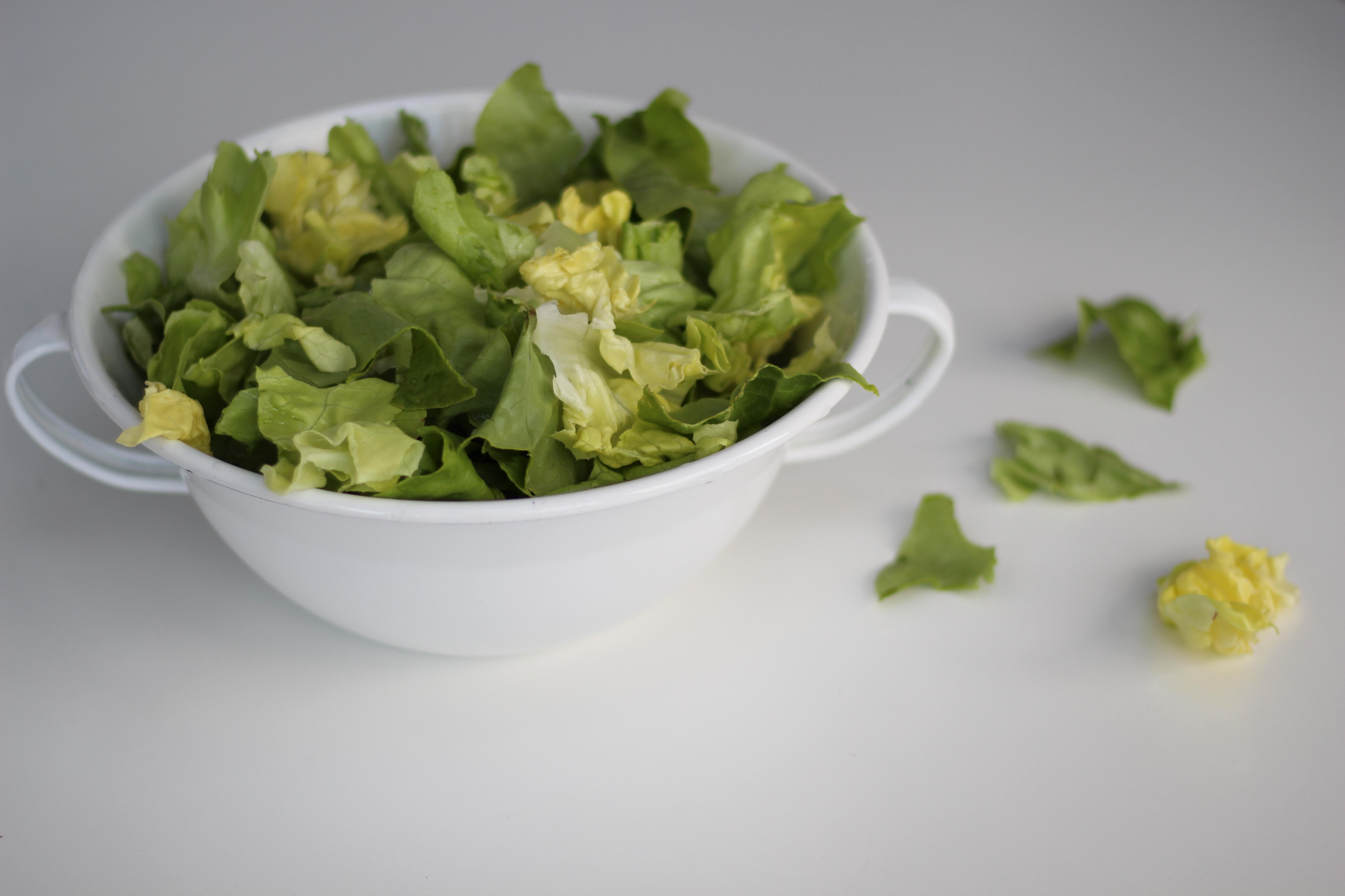 Grüner Salat Dein HomeSpa