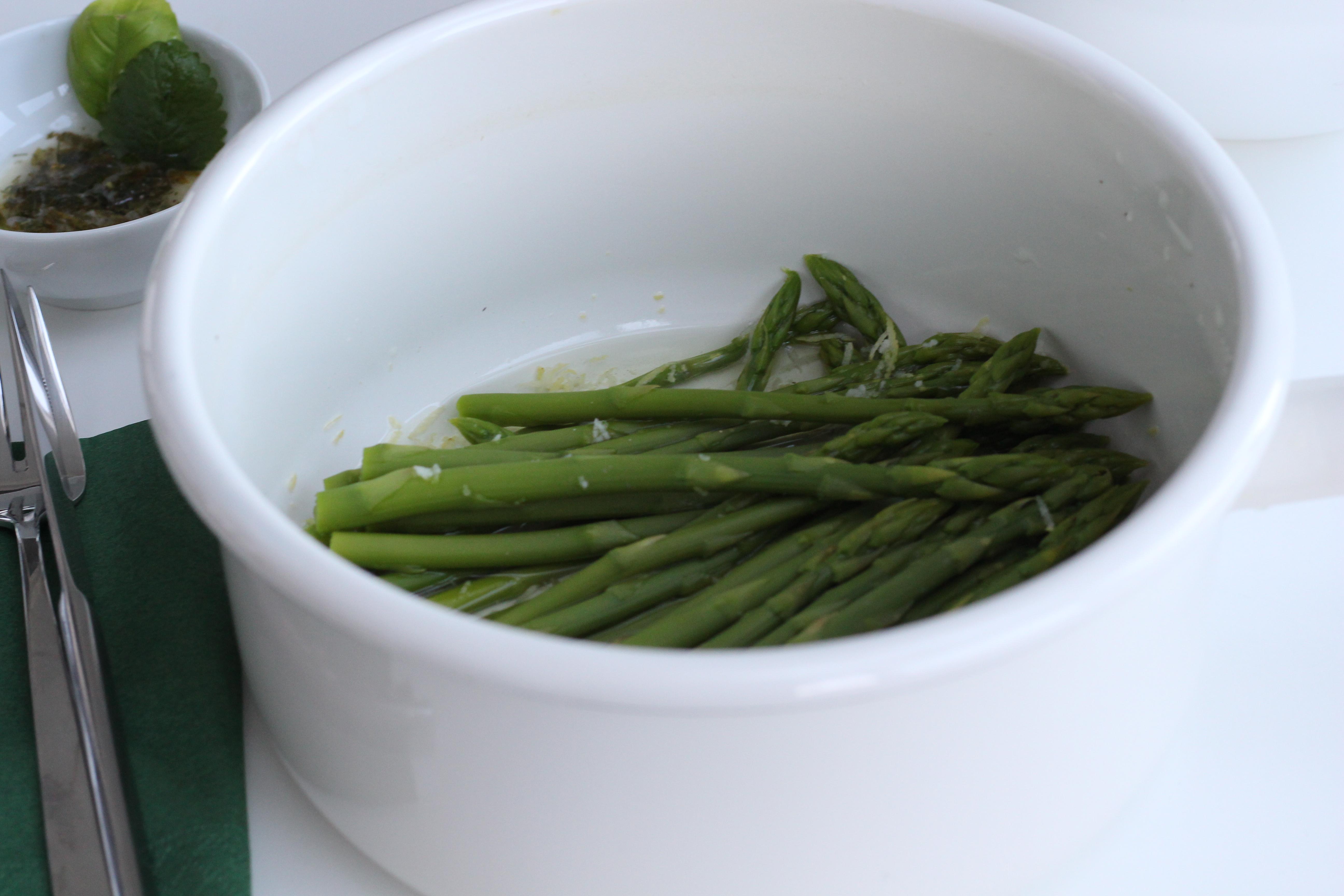 Grüner Spargel Dein HomeSpa