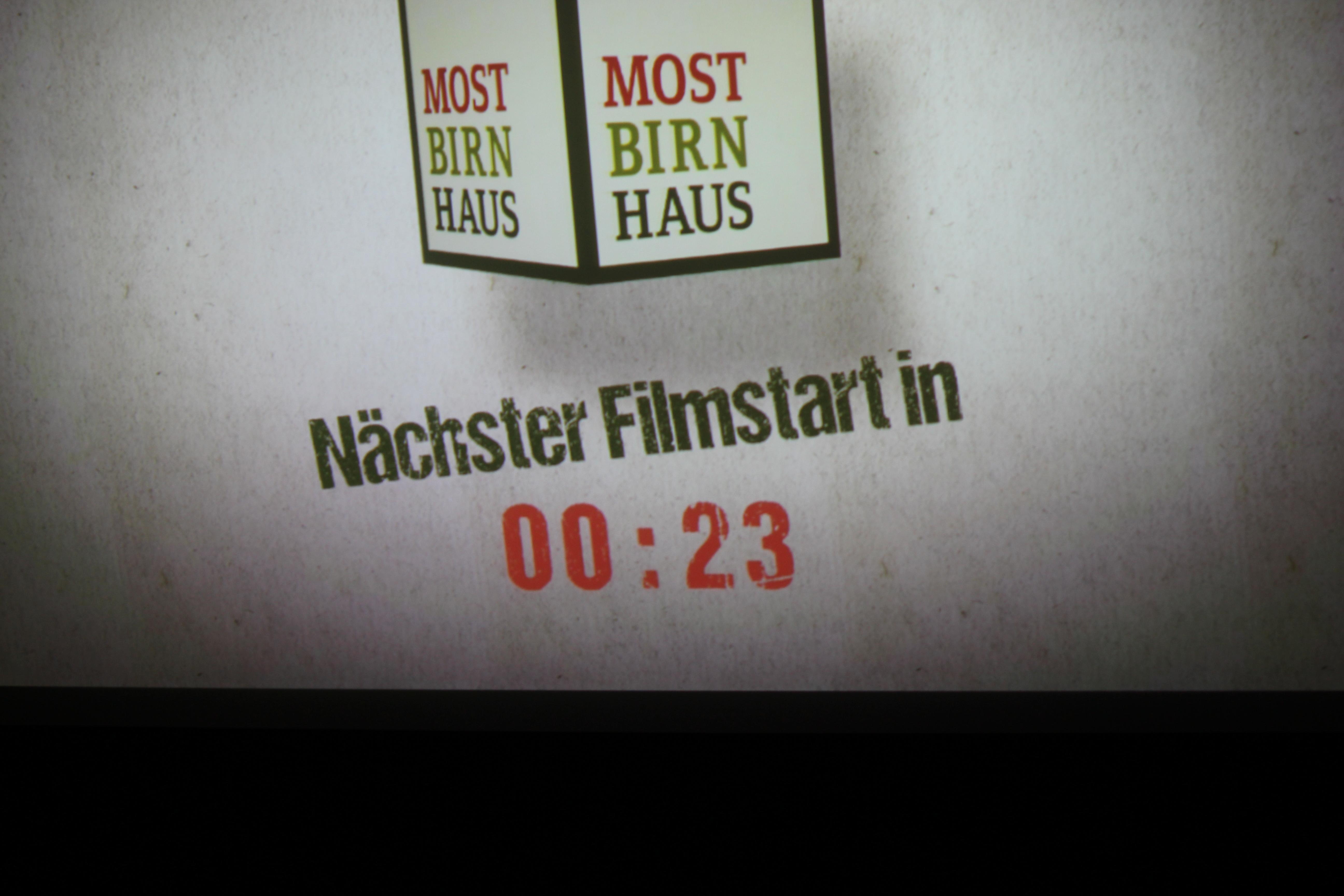 Mostbirnhaus Kino