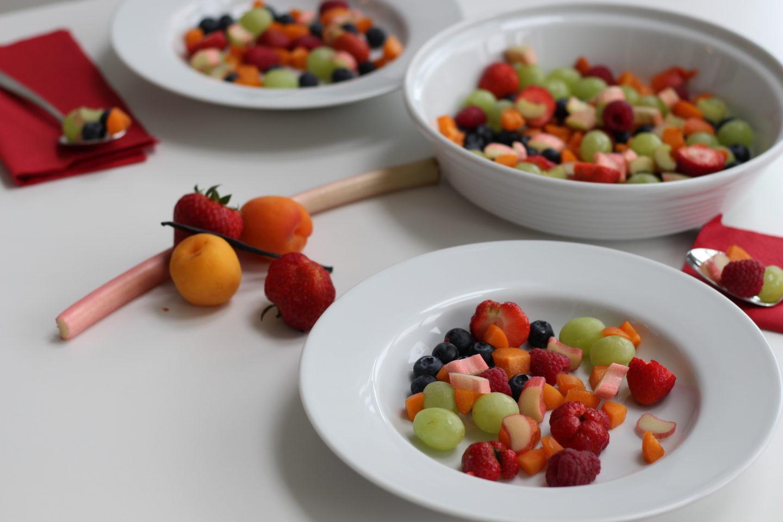 Vegane Obstsuppe und Erlaufschlucht