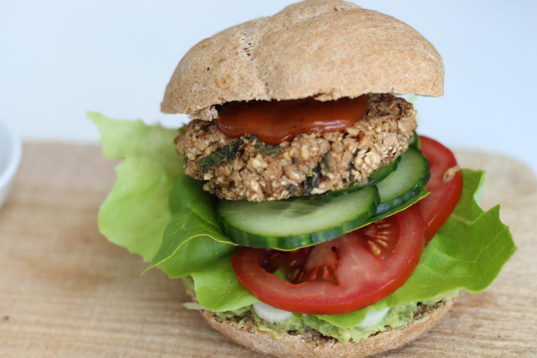 Veganer Mostviertler Burger…♥
