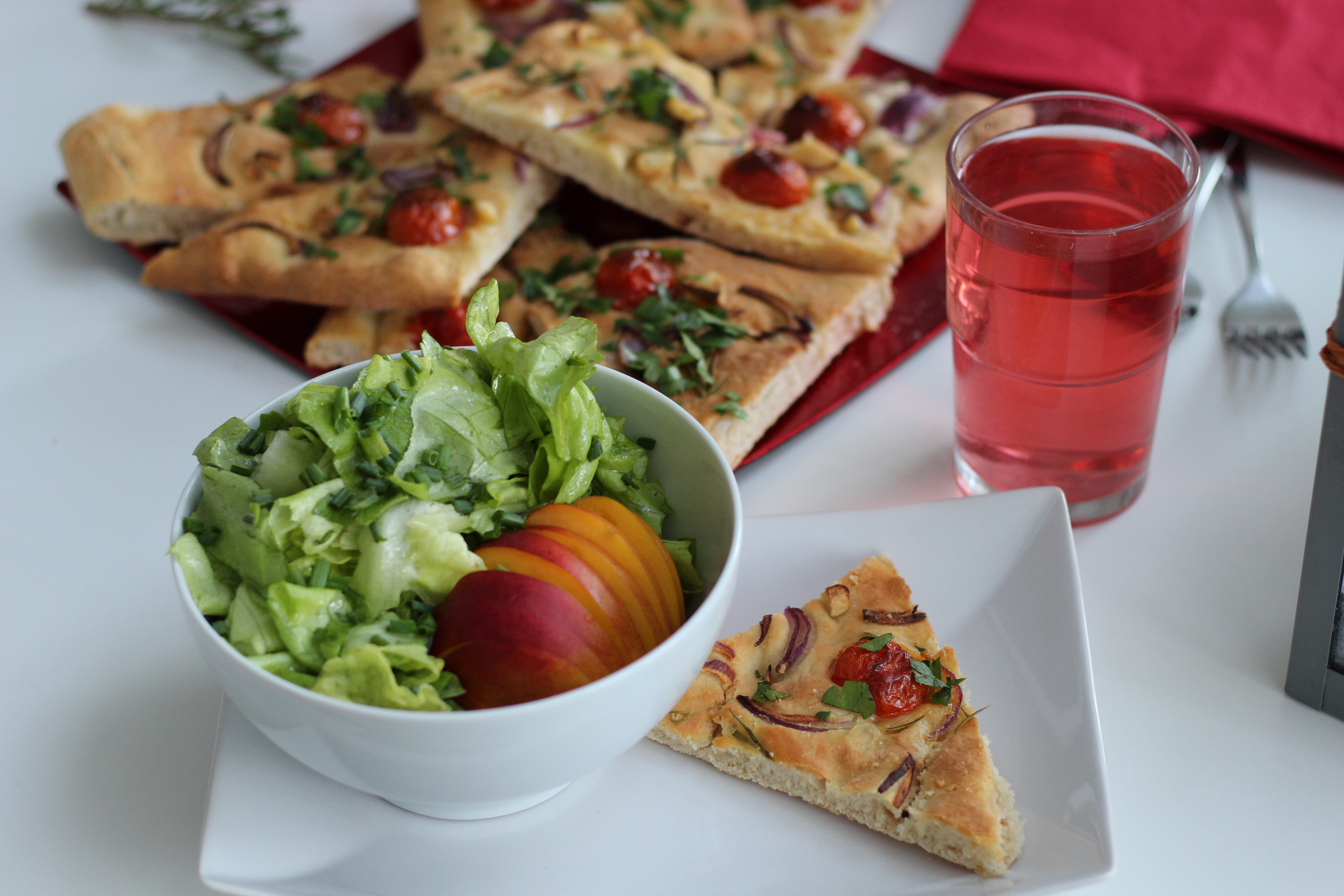Vegan Focaccia, Dein Homespa, Vegan Food, Austria, (14)