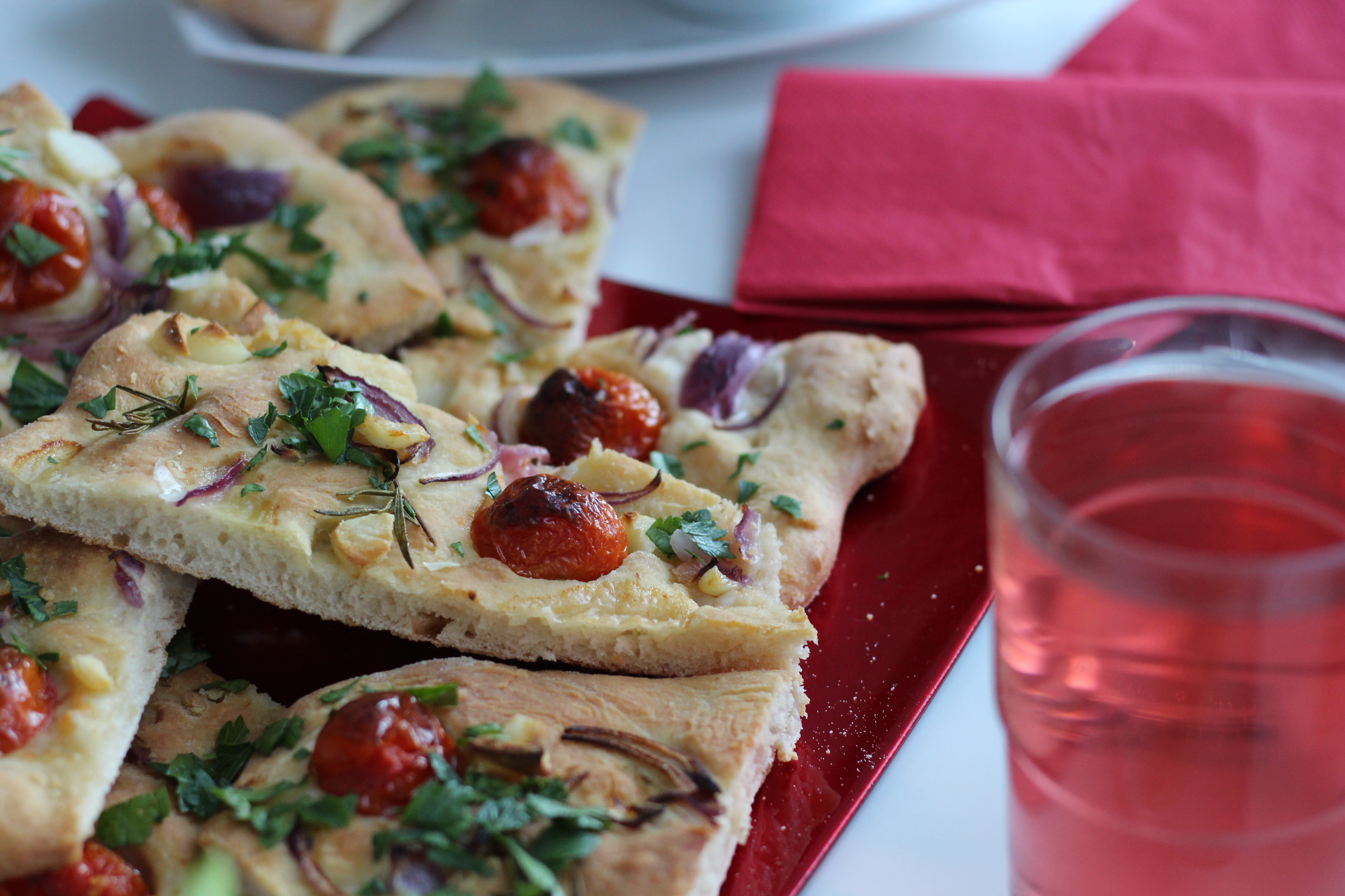 Vegan Focaccia, Dein Homespa, Vegan Food, Austria, (16)