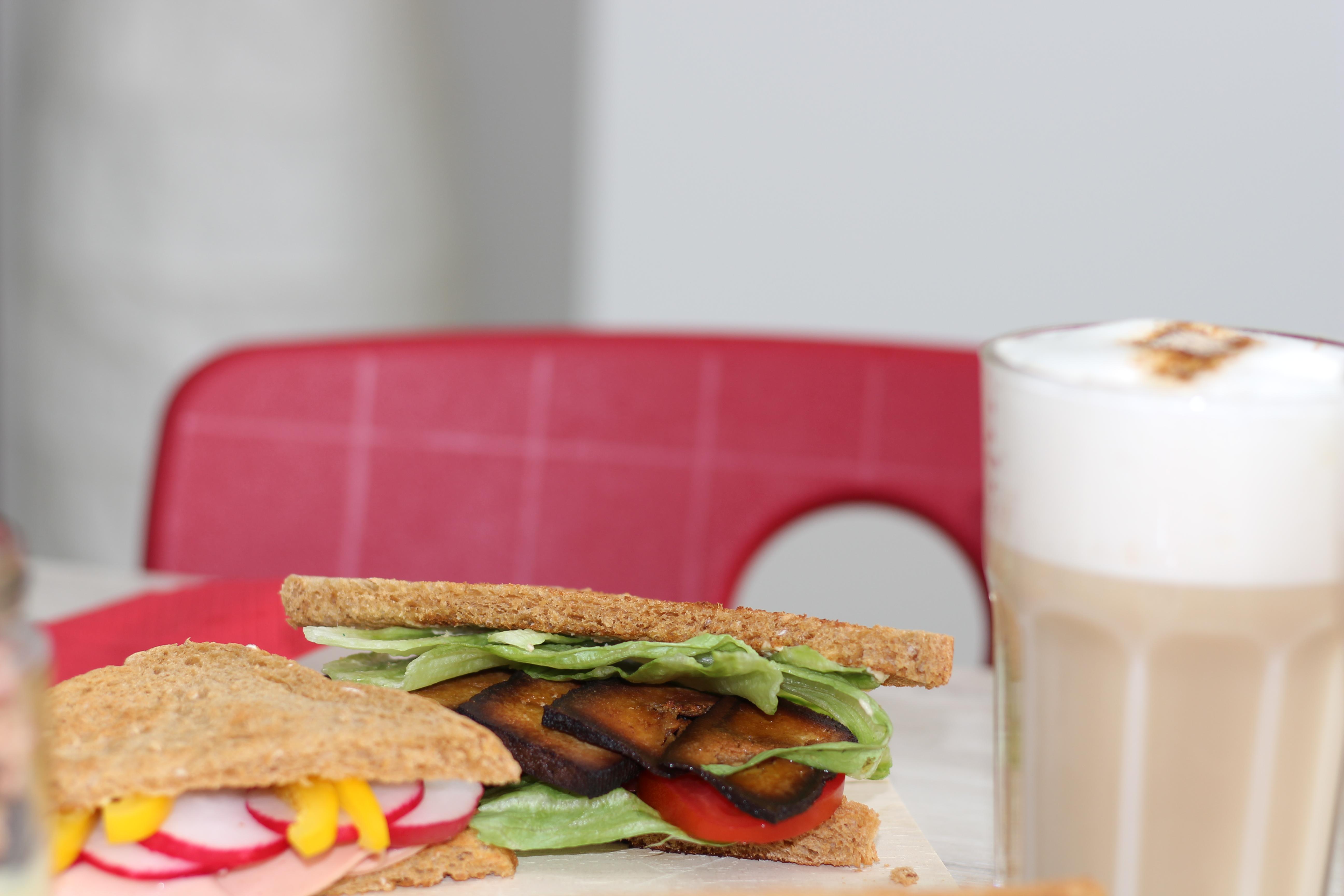 Veganes Frühstück, Sandwich, Vanillepudding, Motivation, (18)