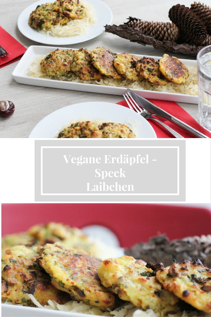 Erdäpfel-Speck-Vegan-Laibchen-Austrian Food- Mostvertel - Homecooking - Autumn