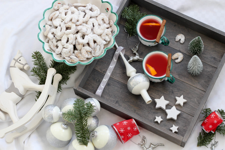 Vegane Vanillekipferl, Vegane Weihnachten