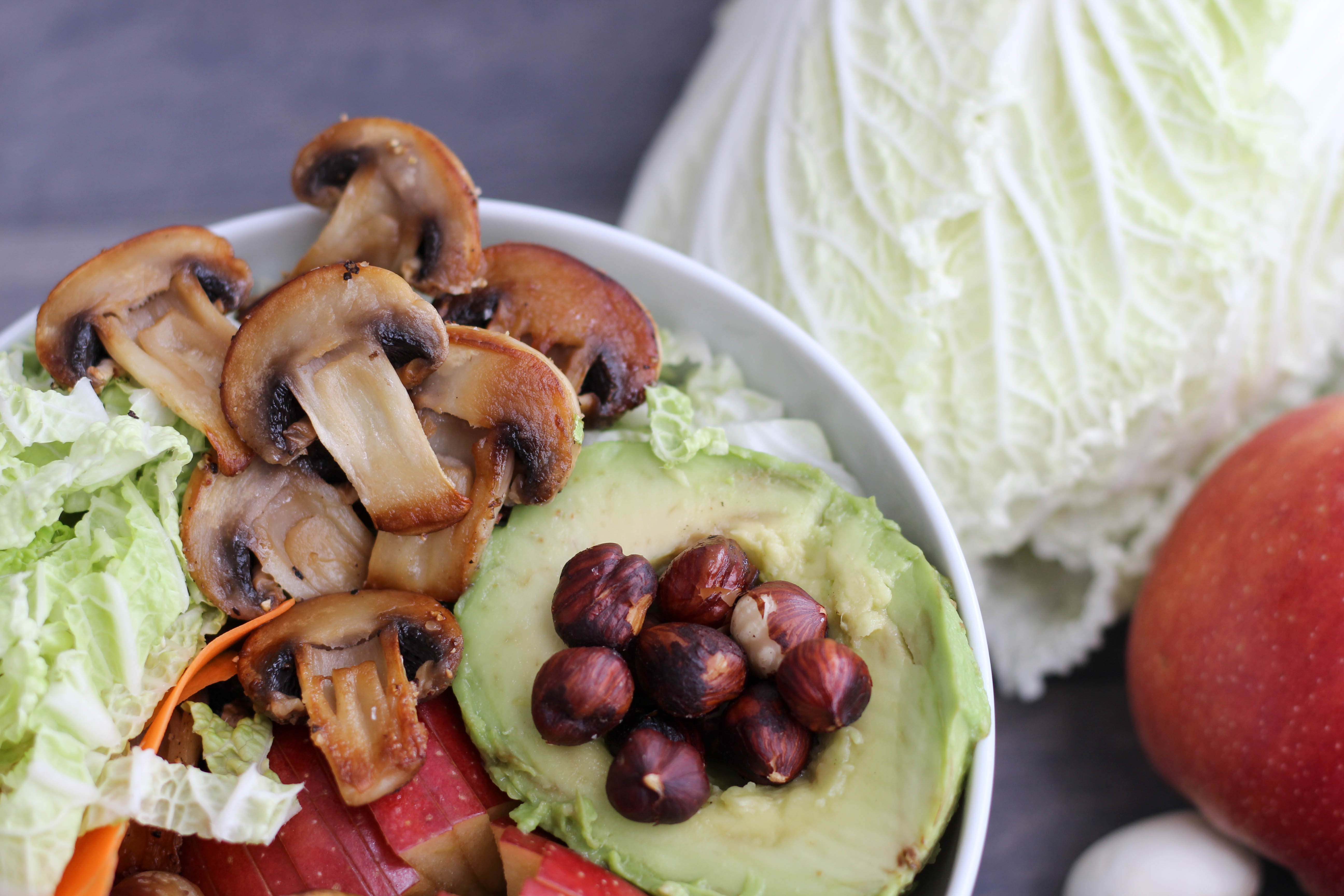 Vegan - Winter - Bowl - Homespa - Maroni - Apfel