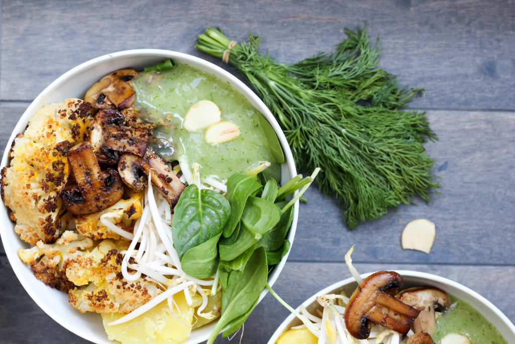Dein Homespa - Vegan - Plantbased - Healthy - Lifestyle - Bowl- Dill - Erdäpfel
