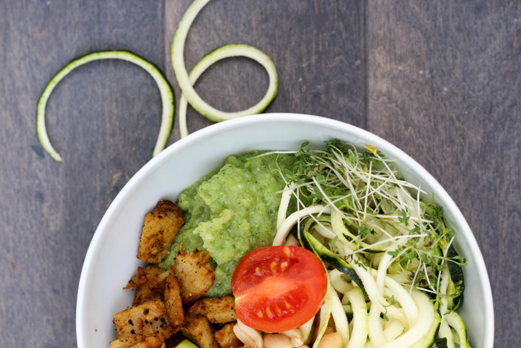 Dein Homespa - Vegan - Plantbased - Healthy - Zucchini - Bowl