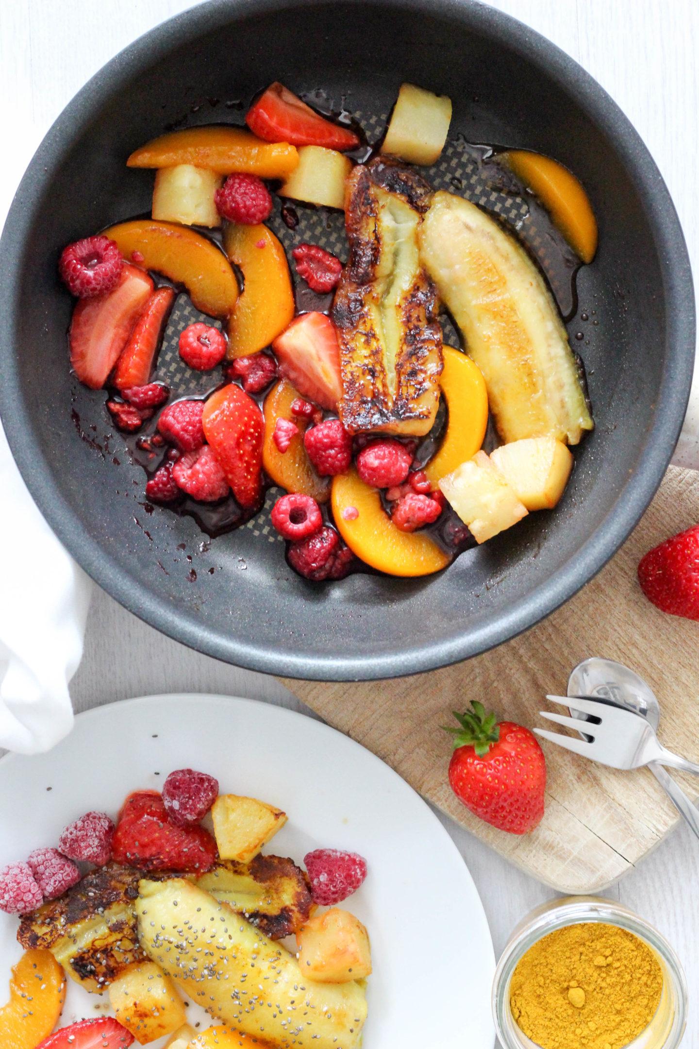 Veganes Regenbogen Essen mit Ingwer Kurkuma – Ich will das jetzt IMMER