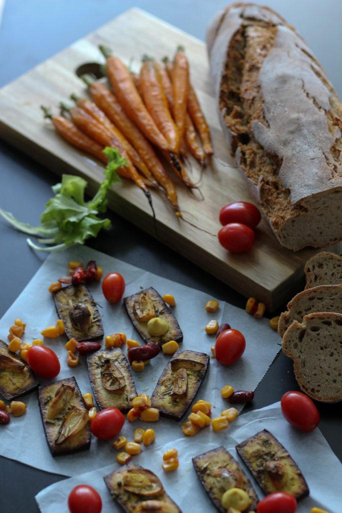 Vegan HomeSpa, Tofu, Jause, Vegane Jause, Gemüseliebe, Karotten, Vegan im Sommer,