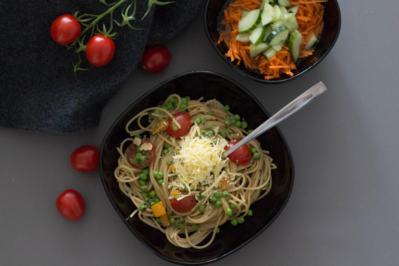 Italienfeeling für Zuhause – Vegane 10 Minuten Nudelpfanne