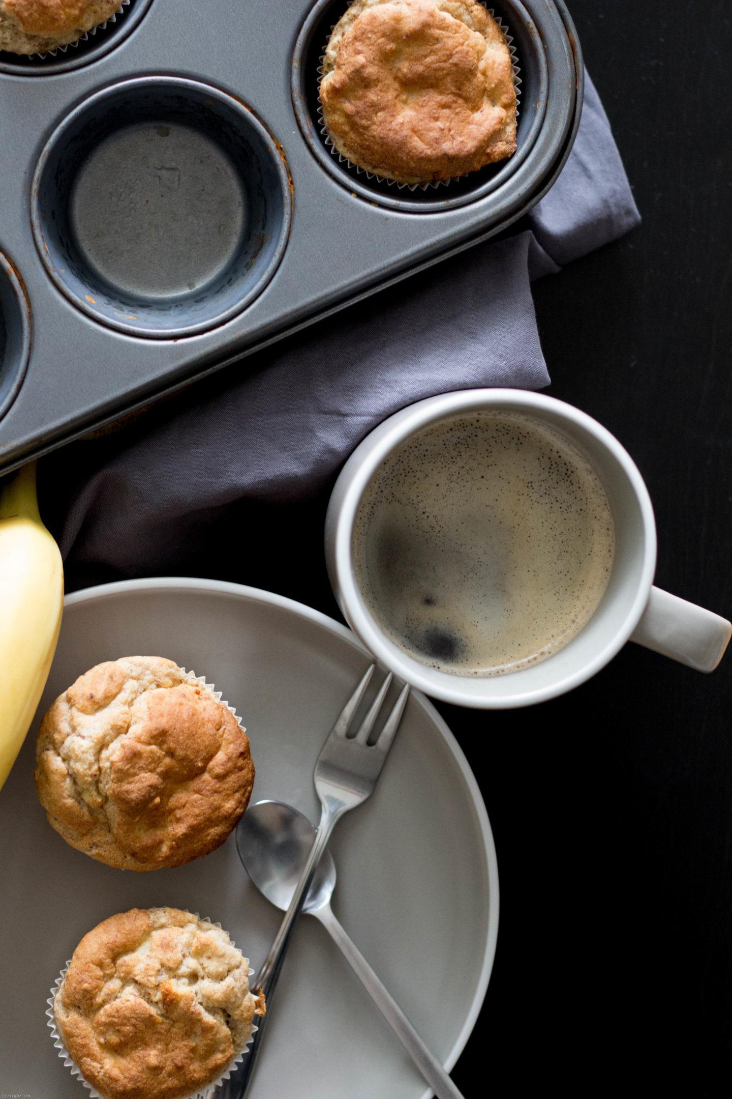 HomeSpa, Vegan, Cooking, Austria, Mostviertel, Glutenfrei, Bananenmuffin