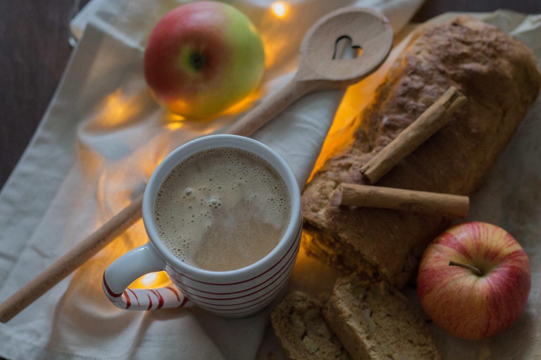 Veganes Apfelbrot zum Winterkaffee