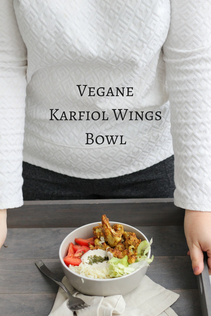 HomeSpa, Vegan Cooking, Austria, Mostviertel, Winter, Karfiol Wings, Bowl