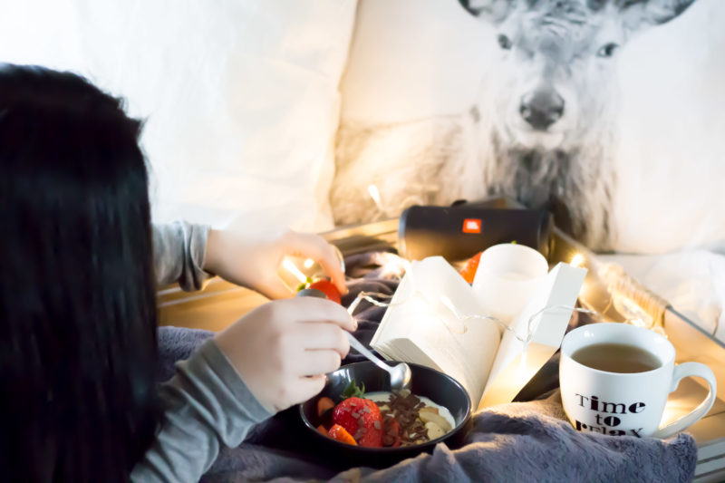 Dein HomeSpa - Abendroutine - So startest du relaxt in deine Ruhezeit!