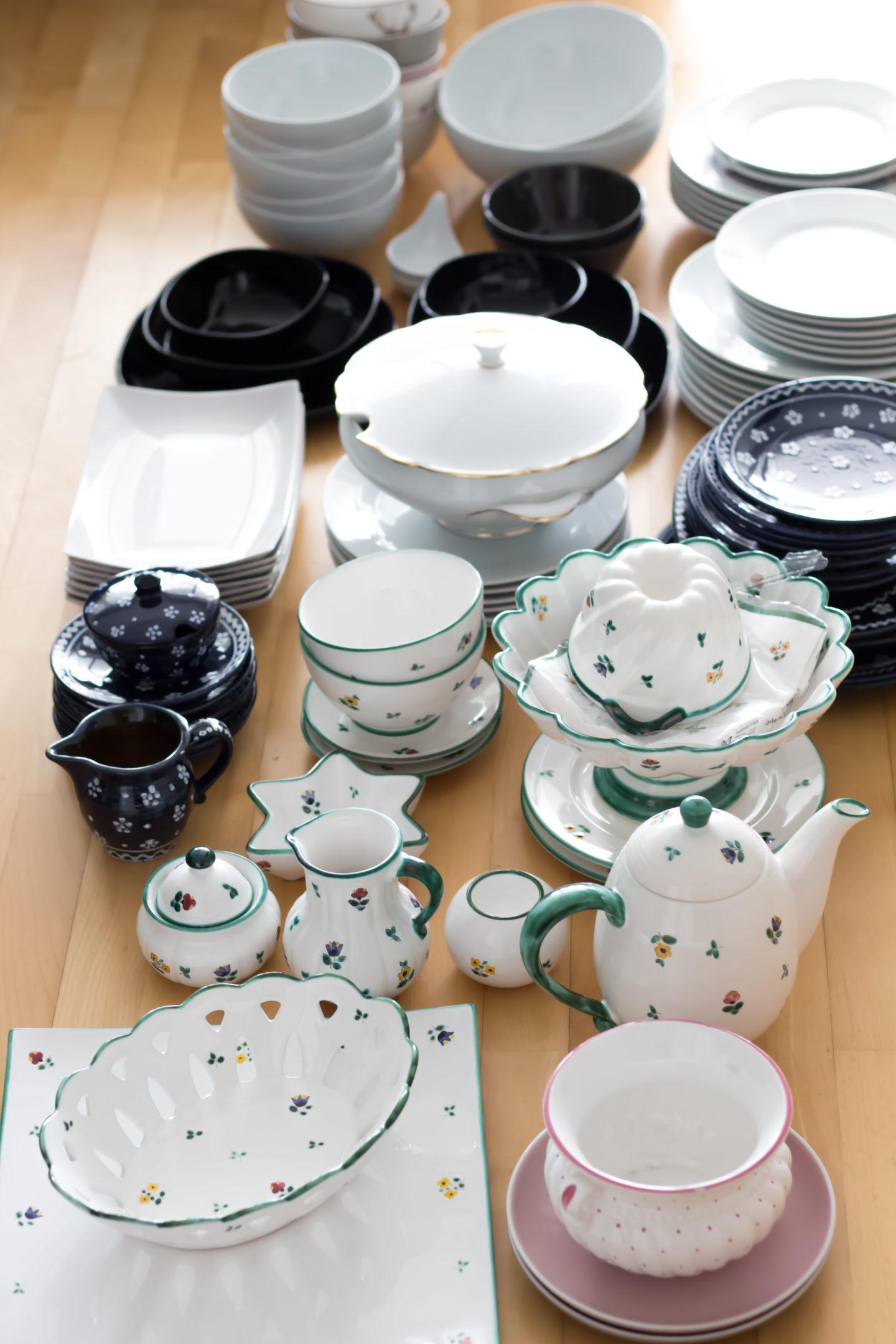 Minimalismus im Geschirrschrank (3 von 16)