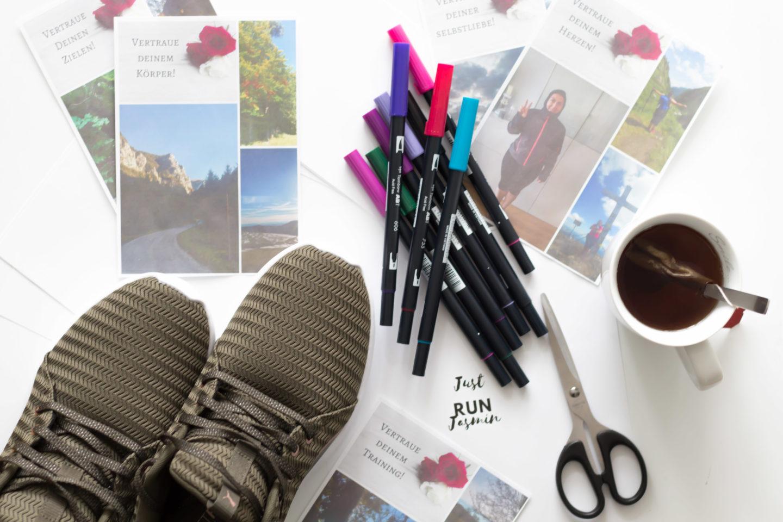 Plus Size Running Visionboard – So bleibst du motiviert! Woche 3