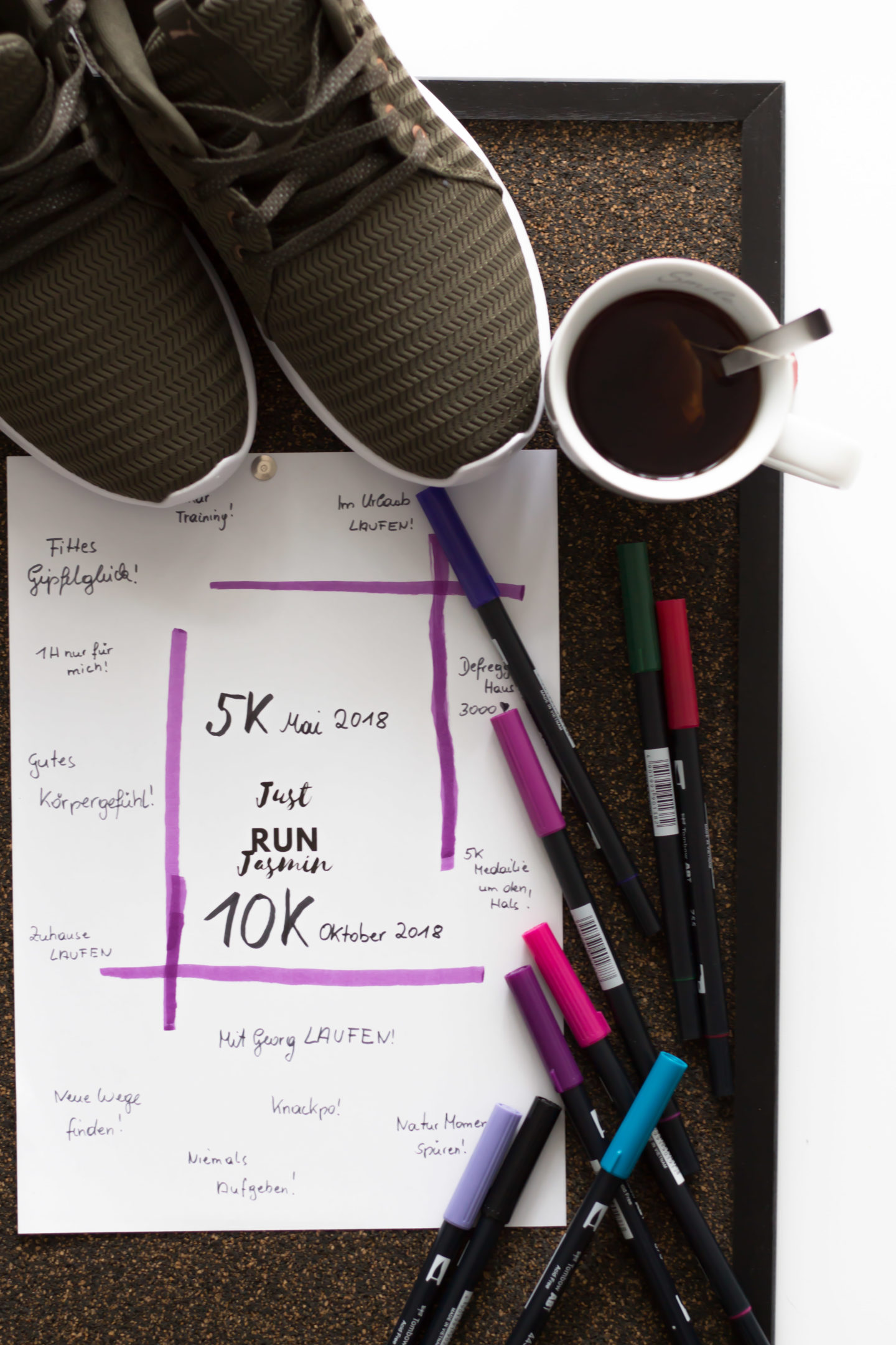 Plus Size Running Visionboard