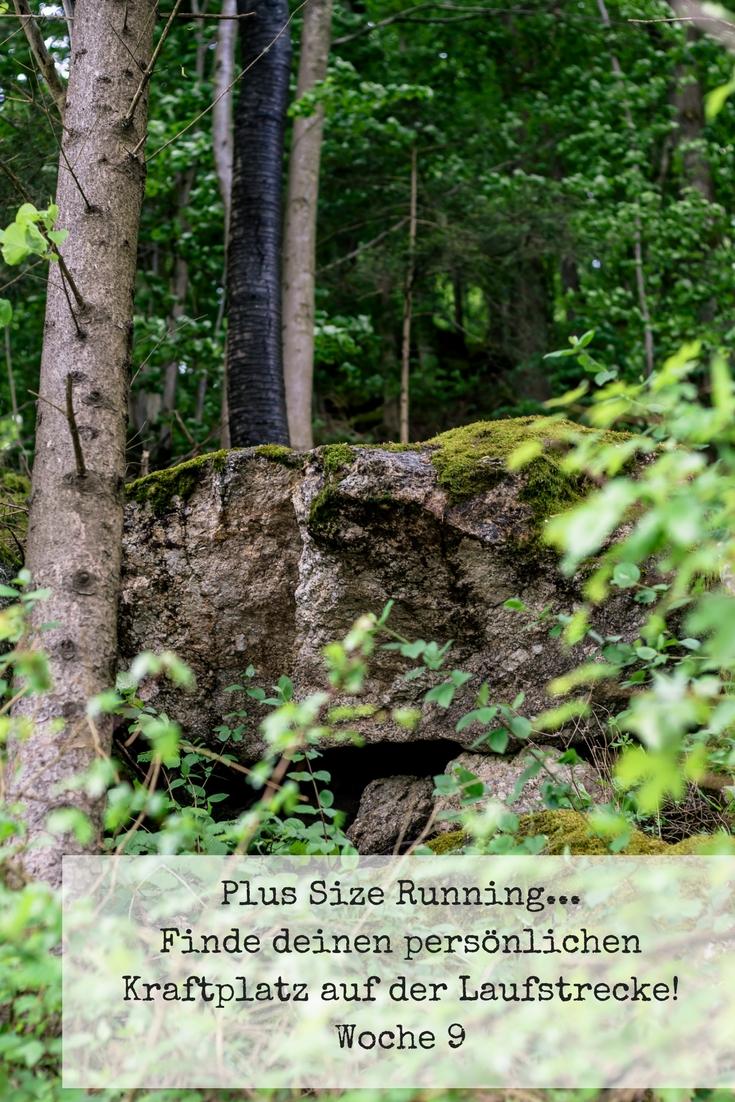 Plus Size Running - Finde deinen persönlichen Kraftplatz auf der Laufstrecke! - Woche 9