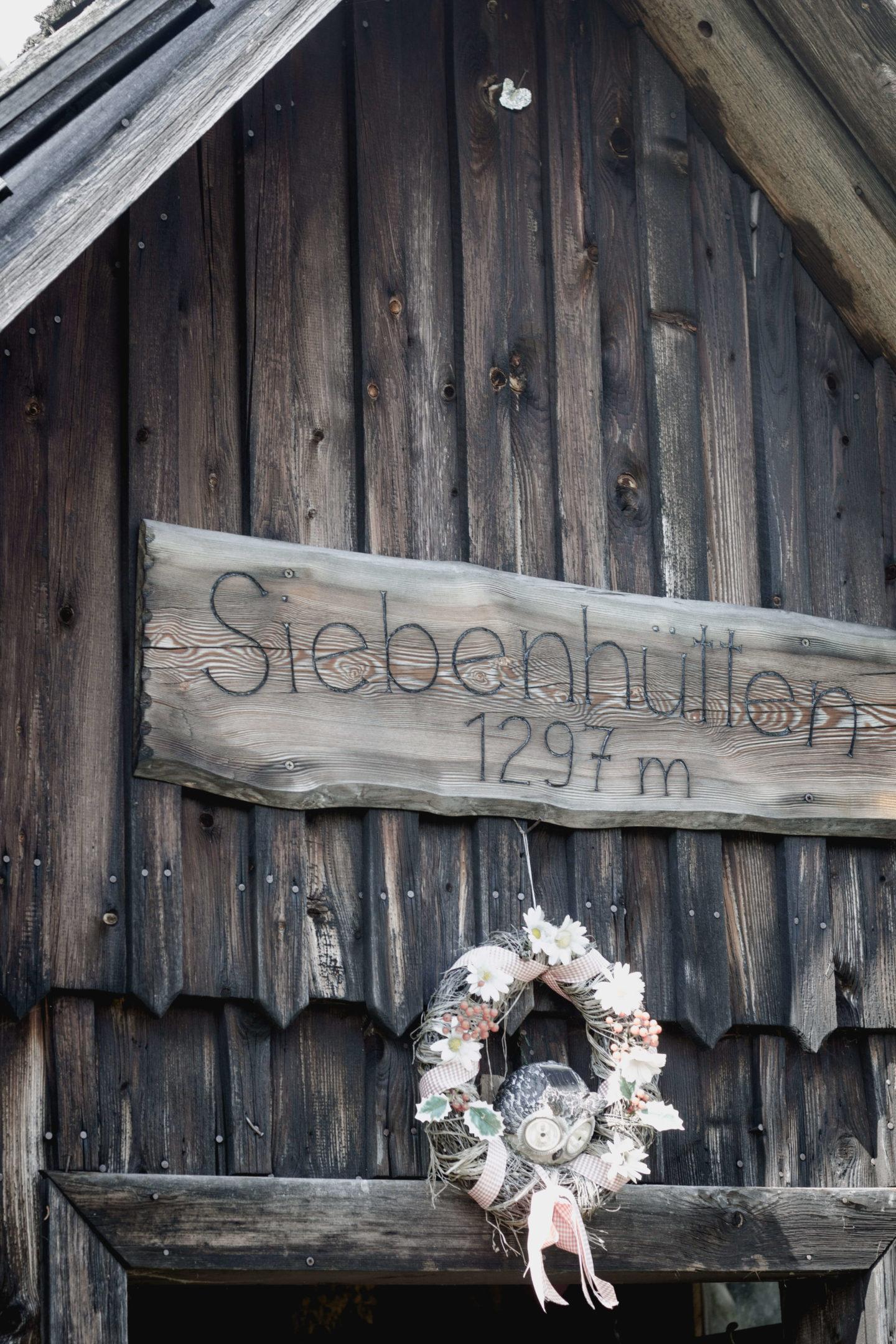 Die Siebenhütten am Königsberg in Göstling!