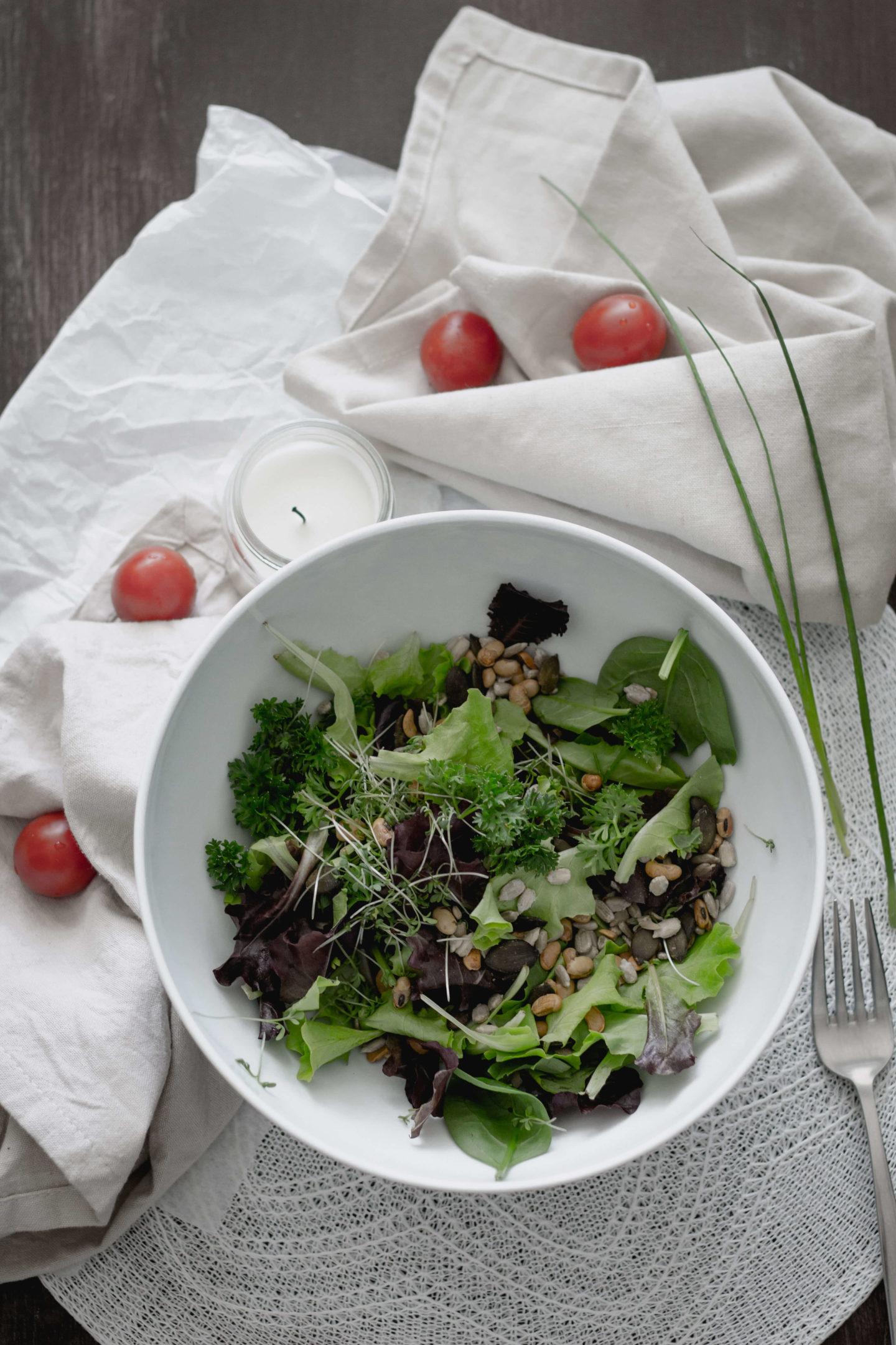 Veganer Linsensalat mit Rote Rüben - Veganes Fast Food - Soulfood ...