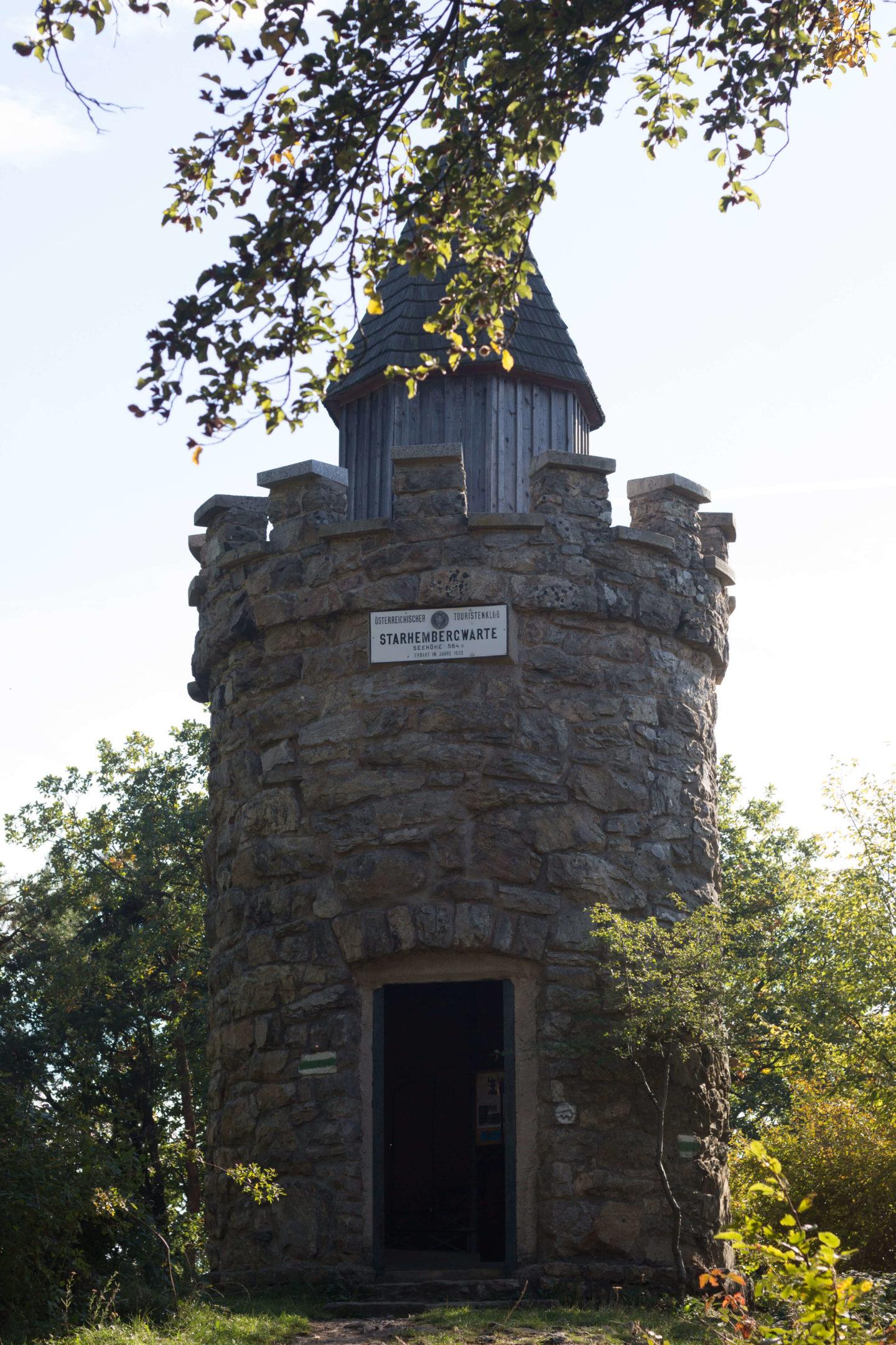 Am Vogelbergsteig zur Ruine Dürnstein!