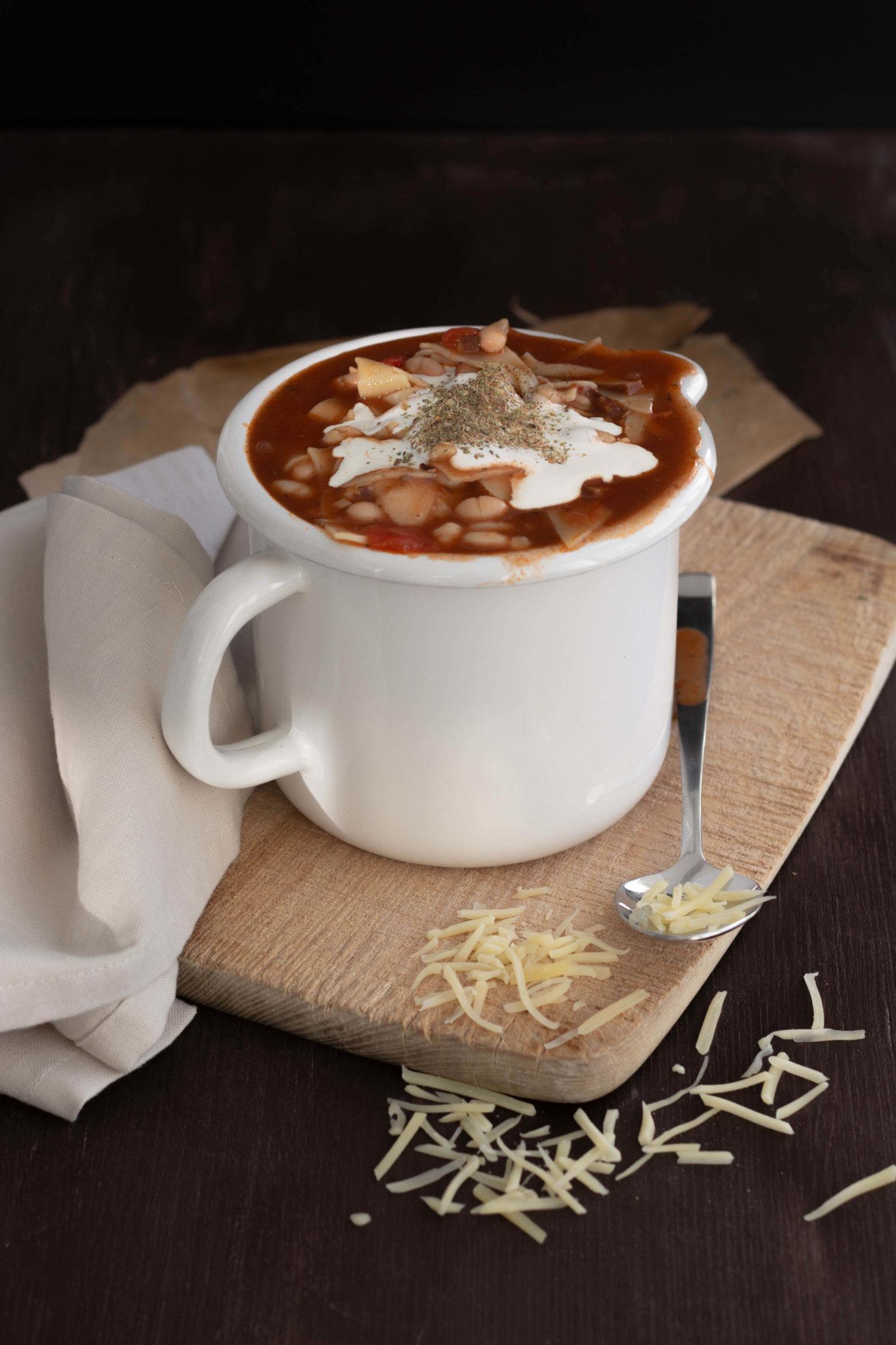 Winterlicher Lasagne Eintopf als Soulfood