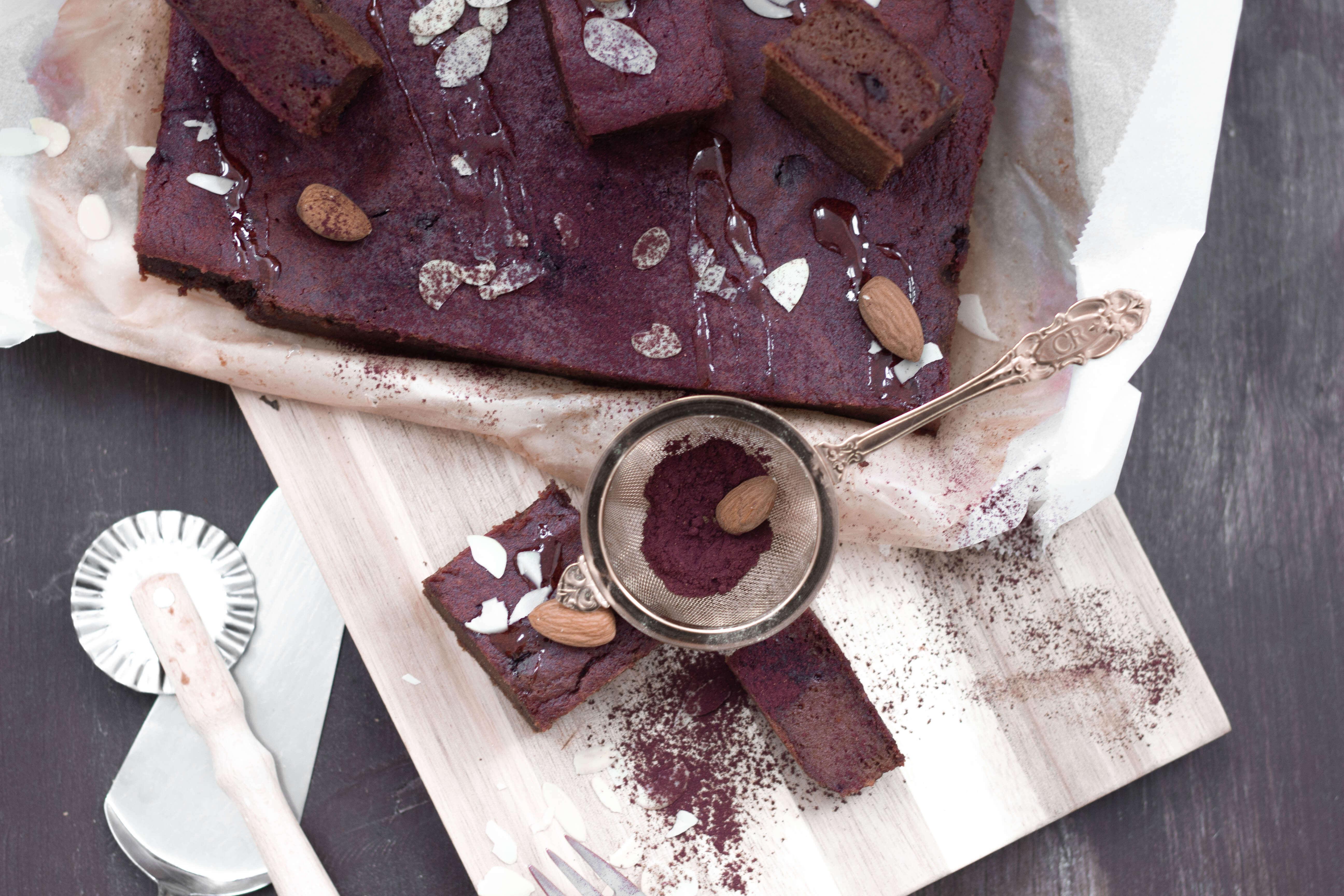 Rote Beete Schokoladekuchen-Glutenfrei- Vegan