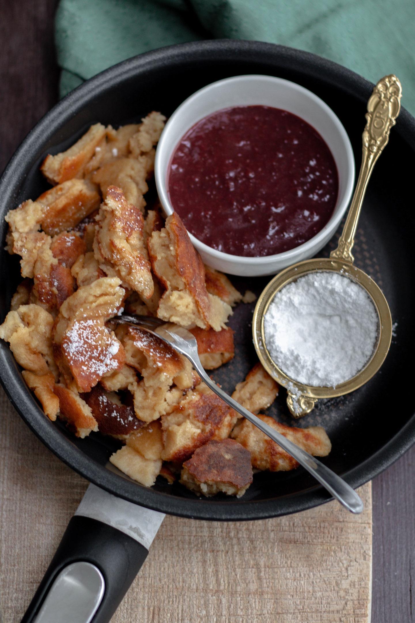 Glutenfreier Kaiserschmarrn-Herbst-Soulfood-Dein HomeSpa- Food & Wohlfühlblog aus dem Mostviertel