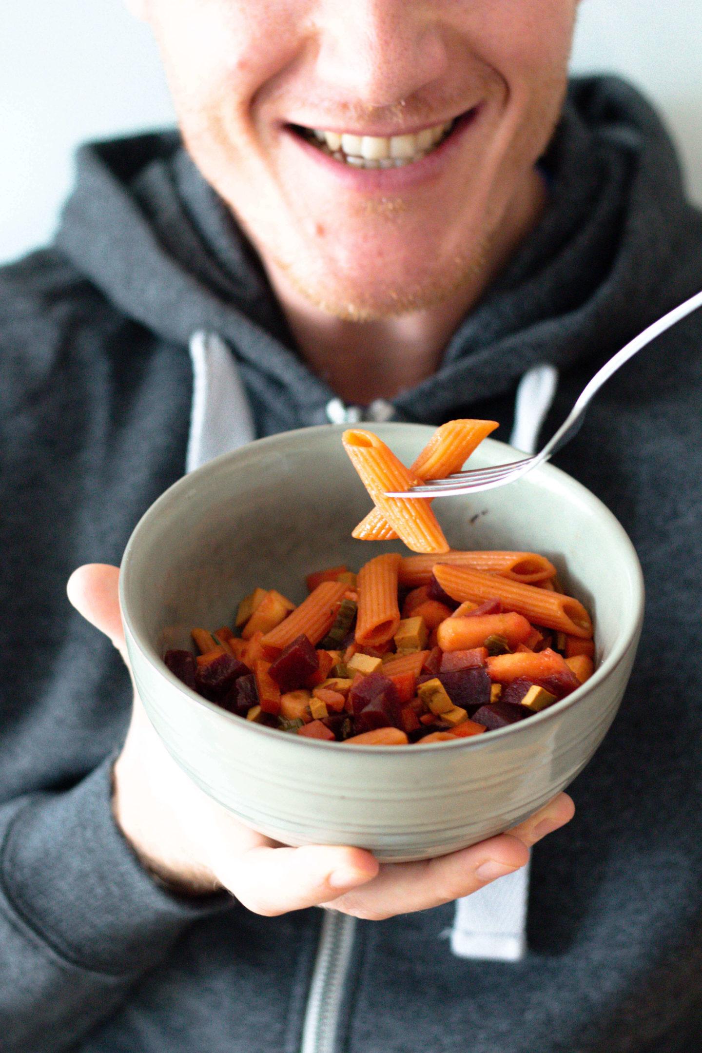 Rote Rüben Pasta-Glutenfrei-Vegan- Herbst Bowl- Hygge- Herbst-Dein HomeSpa- Food & Wohlfühlblog aus dem Mostviertel