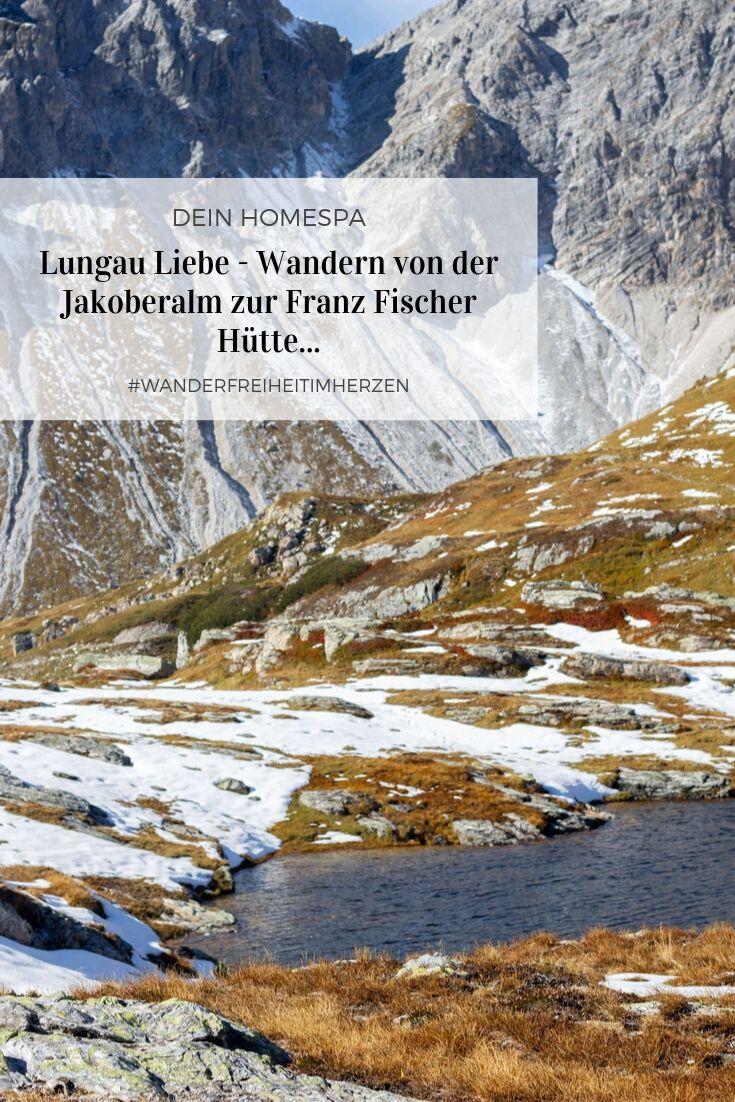 Pinterest Foto -Lungau Liebe - Wandern von der Jakoberalm zur Franz Fischer Hütte- Dein Homespa - Food und Wohlfühlblog aus dem Mostviertel