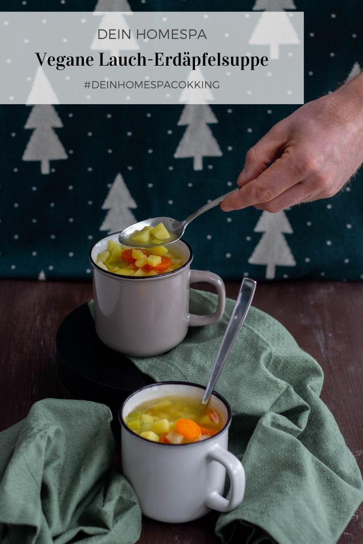 Vegane Lauch-Erdäpfelsuppe- Wintertage-Dein Homespa- Food & Wohlfühlblog aus dem Mostviertel