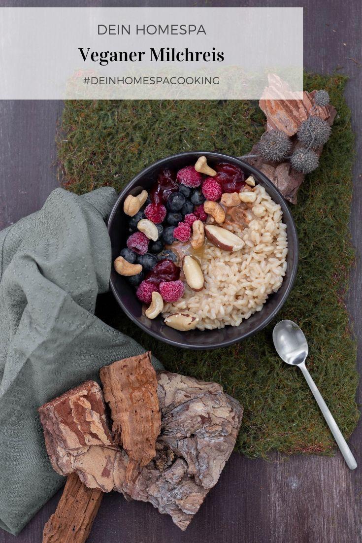 Veganer Milchreis-Winterhygge-Wohlfühlessen-Dein Homespa- Food & Wohlfühlblog aus dem Mostviertel