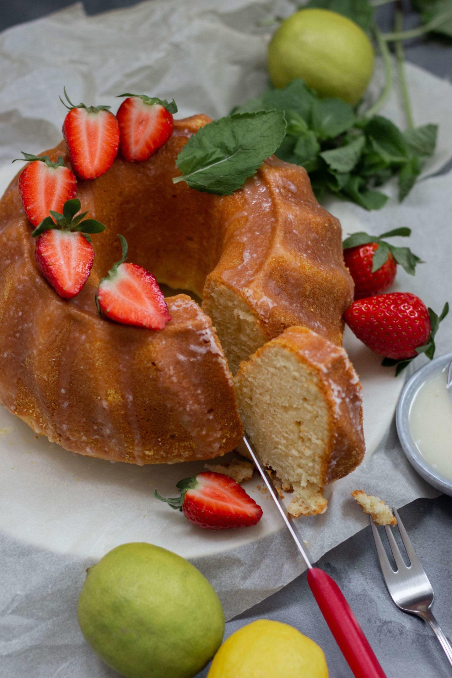 Zitronengugelhupfmit Joghurt- Food & Wohlfühlblog aus dem Mostviertel