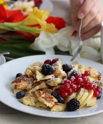 Vegan Kaiserschmarrn Dein Homespa, Soulfood, Austrian, (5)