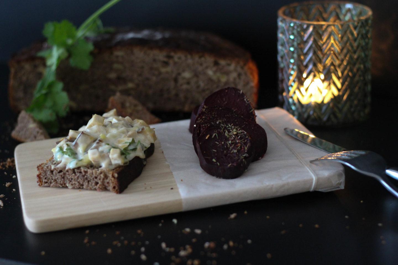 Vegan - Bauernbrot - Ofen - Rote Rüben - Weihnachten - Christmas - Dein Homespa