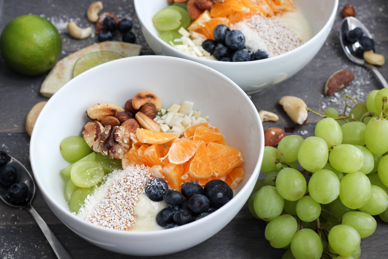 Vegane Sellerie – Kokos – Nuss Bowl