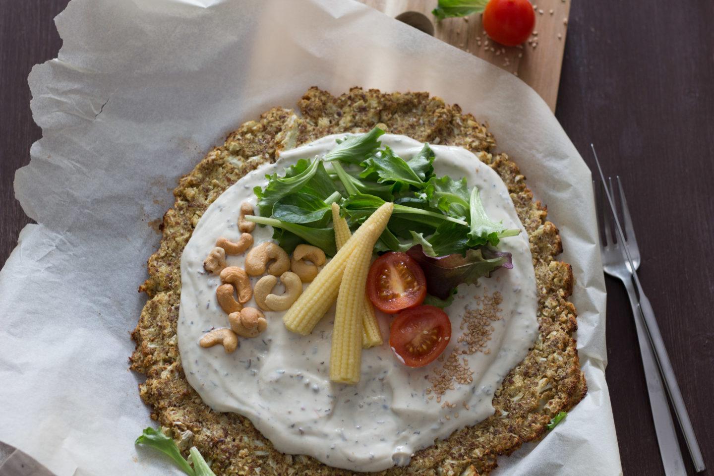 Vegane Low Carb Blumenkohl Pizza